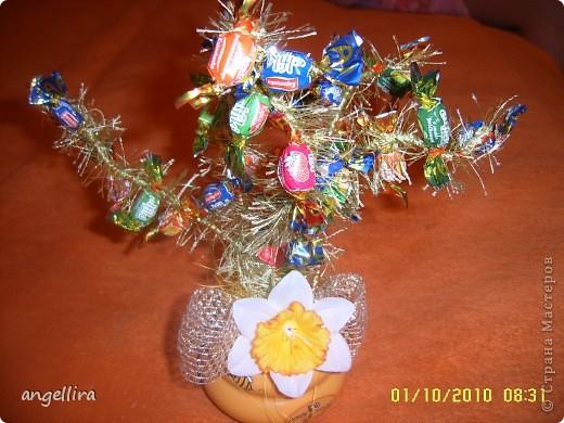 Вот такое деревце было сделано для одной учительницы фото 2