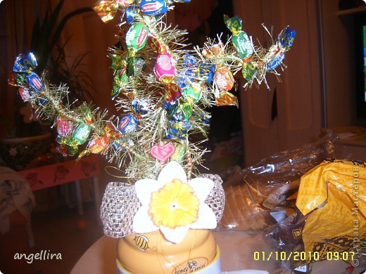 Вот такое деревце было сделано для одной учительницы фото 7