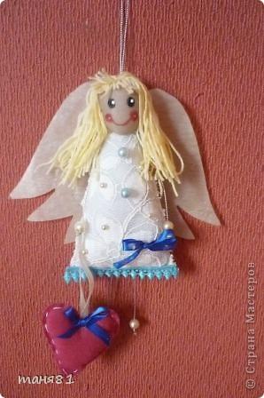 Вот такой ангелочек получился к празднику. фото 2
