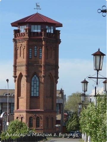 Макет символа г. Бузулука  - старинной водонапорной башни. фото 2