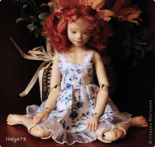 Шарнирная кукла Ксюша фото 2