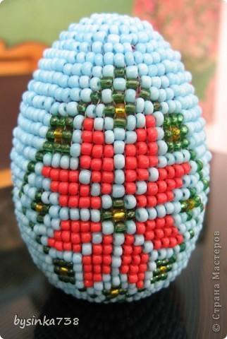 Оплетение пасхальных яиц фото 4