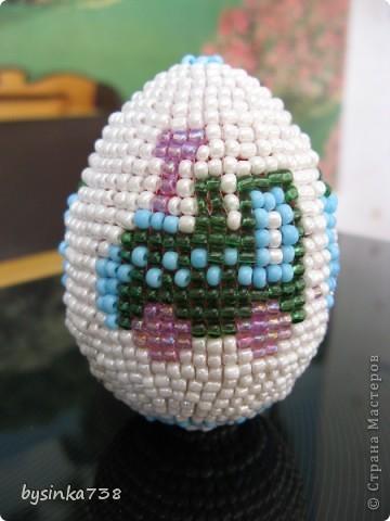 Оплетение пасхальных яиц фото 7