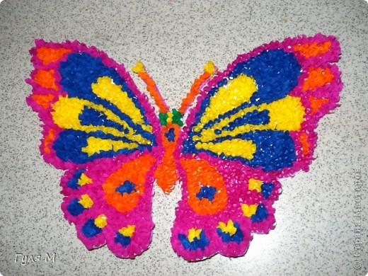 Бабочка ( метод торцевания)