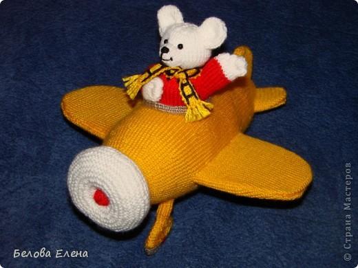 Мишка в самолёте фото 1