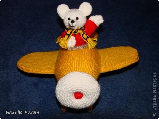 Мишка в самолёте фото 2