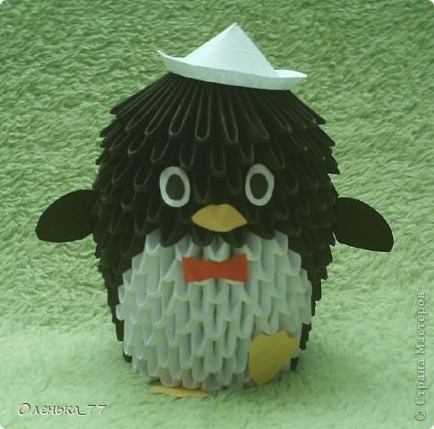 Вот такой пингвин у меня получился! фото 1