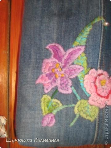 джинсовая сумка фото 2