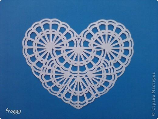 Ажурные сердечки-вытынанки фото 3