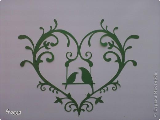 Ажурные сердечки-вытынанки фото 5