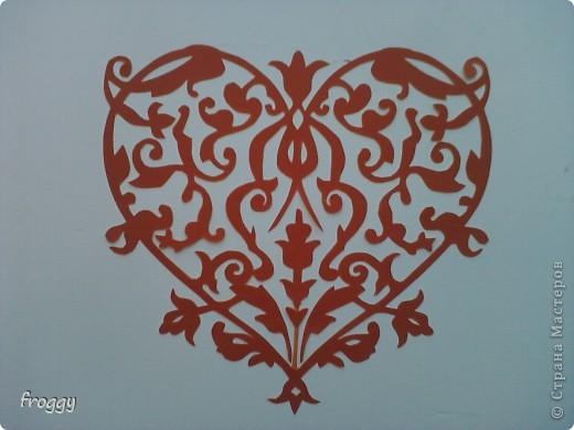 Ажурные сердечки-вытынанки фото 6