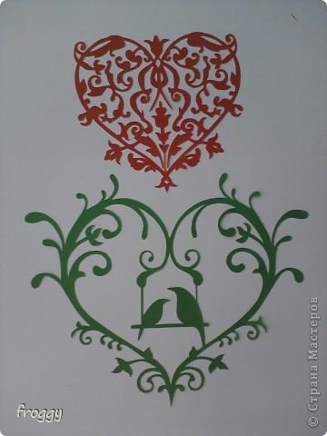 Ажурные сердечки-вытынанки фото 4