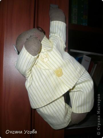 Мистер Доброе Утро. (Сшит по выкройке Тильда-снеговик, только без носика)  фото 2