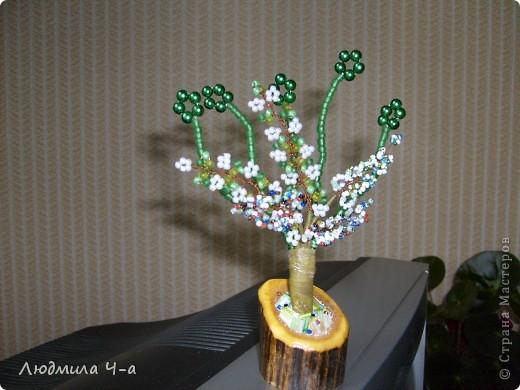 Бисерные деревья....... фото 5