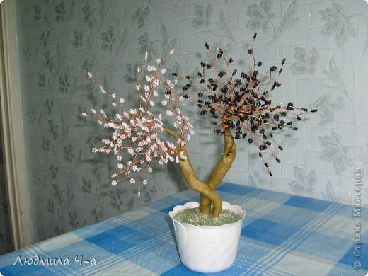 Бисерные деревья....... фото 6