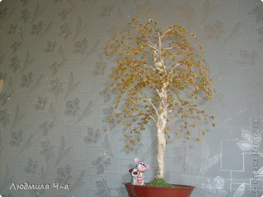 Бисерные деревья....... фото 8