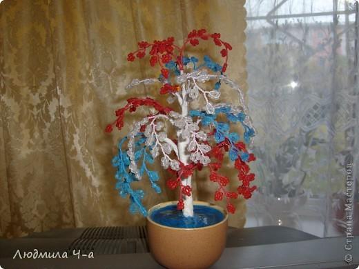 Бисерные деревья....... фото 9