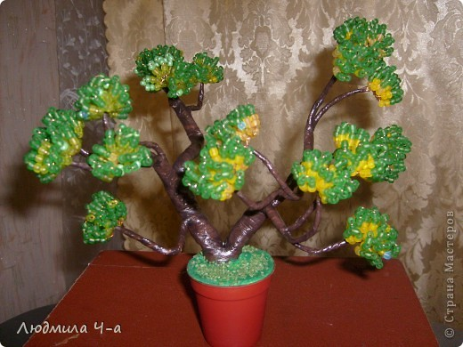 Бисерные деревья....... фото 10