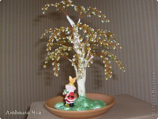 Бисерные деревья....... фото 12