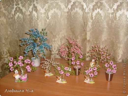 Бисерные деревья....... фото 4