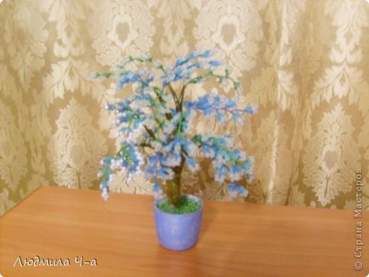 Бисерные деревья....... фото 13
