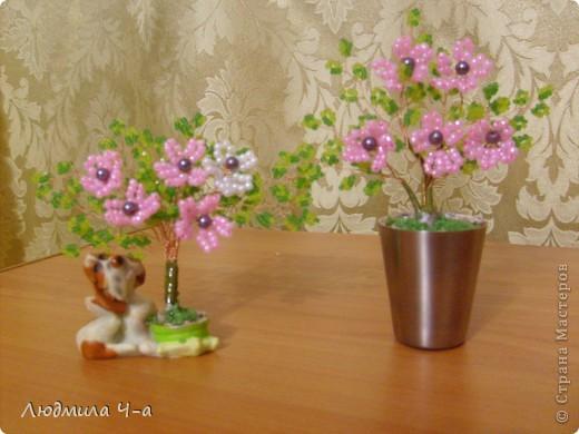Бисерные деревья....... фото 15