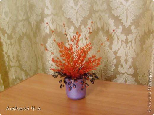 Бисерные деревья....... фото 17