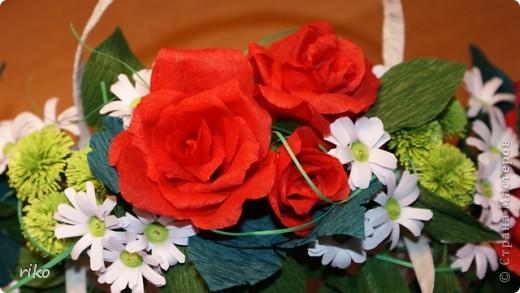Cумочка c цветами фото 3