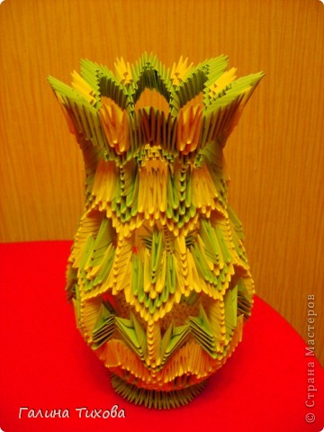 зайчик модульное оригами схема