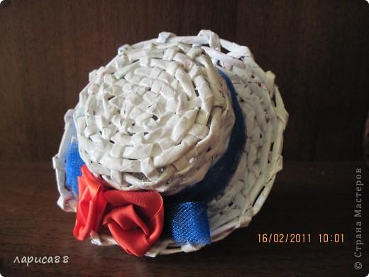 Шляпка для куклы фото 2