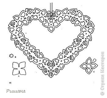 Украшение к Дню Валентина, висит на люстре. фото 3