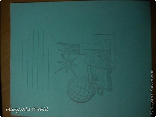 Было скучно, вот решила оформить свою тетрадь.....чем занимаются студенты .....=) фото 2