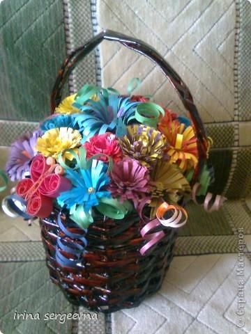 Вот и пригодилась моя корзиночка из журнальных листочков. За карзину и ее МК спасибо Вере С. :) фото 1