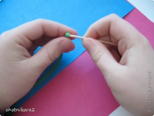Макет клумбы (квиллинг, керамика+Шариковый пластилин) фото 15