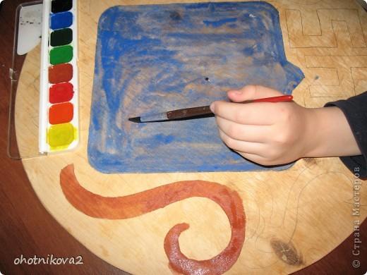 Макет клумбы (квиллинг, керамика+Шариковый пластилин) фото 3