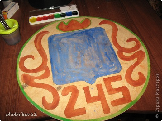 Макет клумбы (квиллинг, керамика+Шариковый пластилин) фото 25