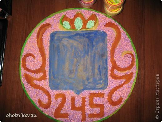 Макет клумбы (квиллинг, керамика+Шариковый пластилин) фото 26