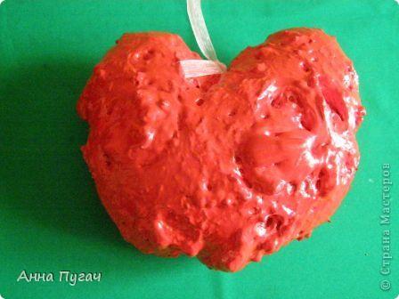 Сердце - подвеска, большого и обьемного размера!!! фото 2