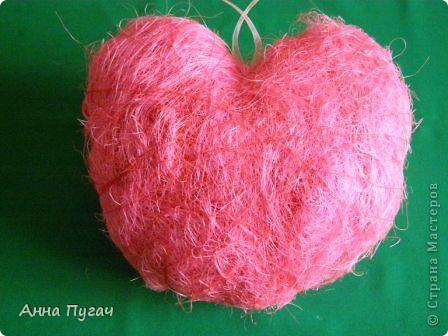 Сердце - подвеска, большого и обьемного размера!!! фото 4