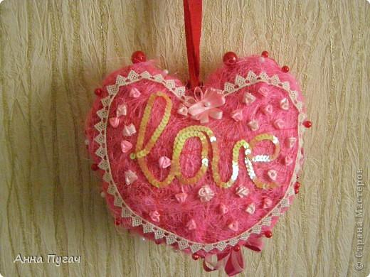 Сердце - подвеска, большого и обьемного размера!!! фото 7