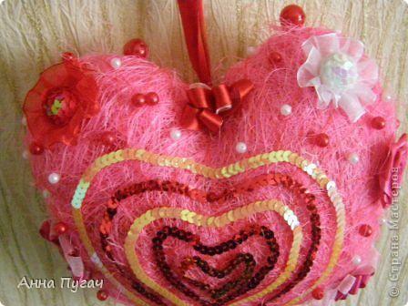 Сердце - подвеска, большого и обьемного размера!!! фото 10