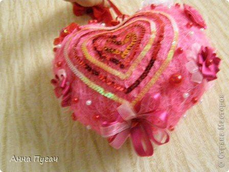 Сердце - подвеска, большого и обьемного размера!!! фото 11