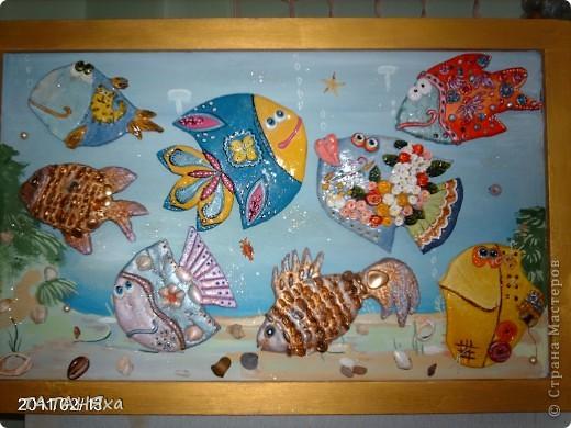 рыбки повторюшки в одном аквариуме