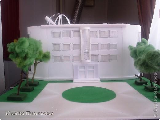 Макет модель макет школы будущего