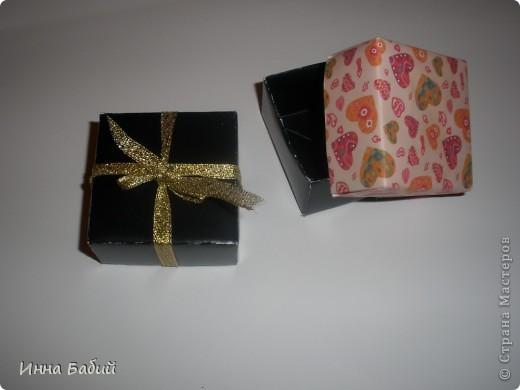 Вот такие коробочки у меня получились!!!! фото 1