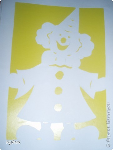 вот таких мы сделали клоунов, шаблоны нашли где-то в интернете фото 2