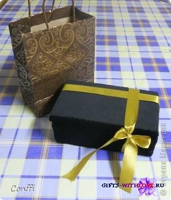 Подарочная коробочка.