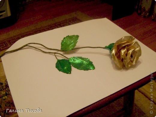 Розы из красной парчи. фото 5