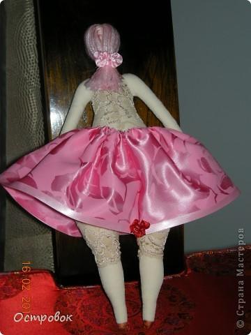 Вот такая розовая принцесса толстушка у меня получилась. фото 2