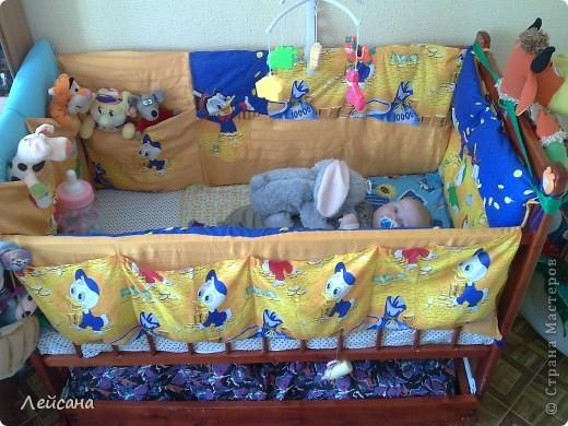Бортики на кровать своими руками